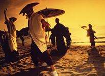 写真:白石踊
