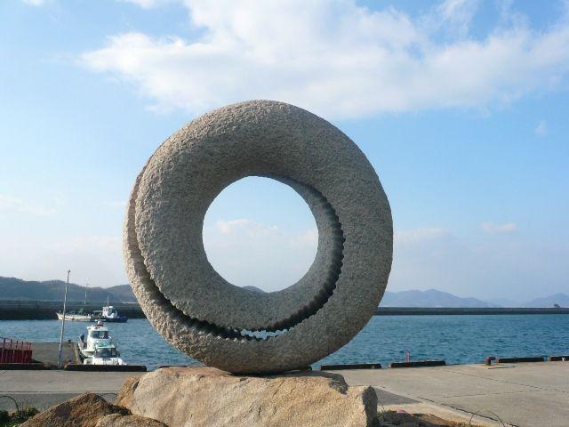 写真:北木島の石めぐり