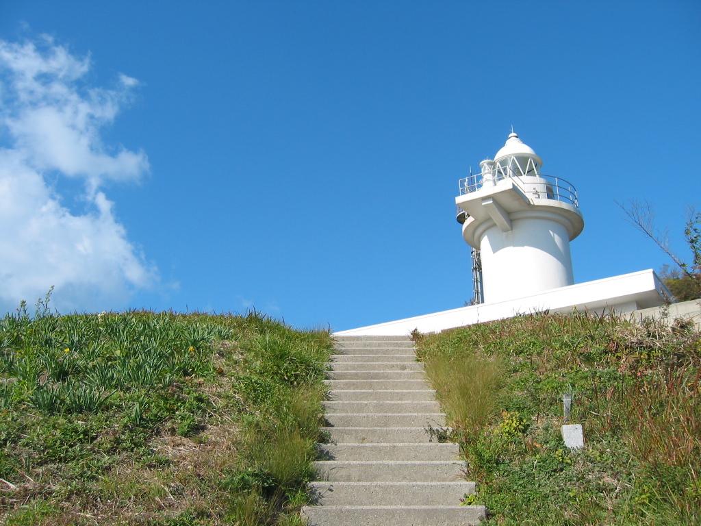 写真:六島の灯台