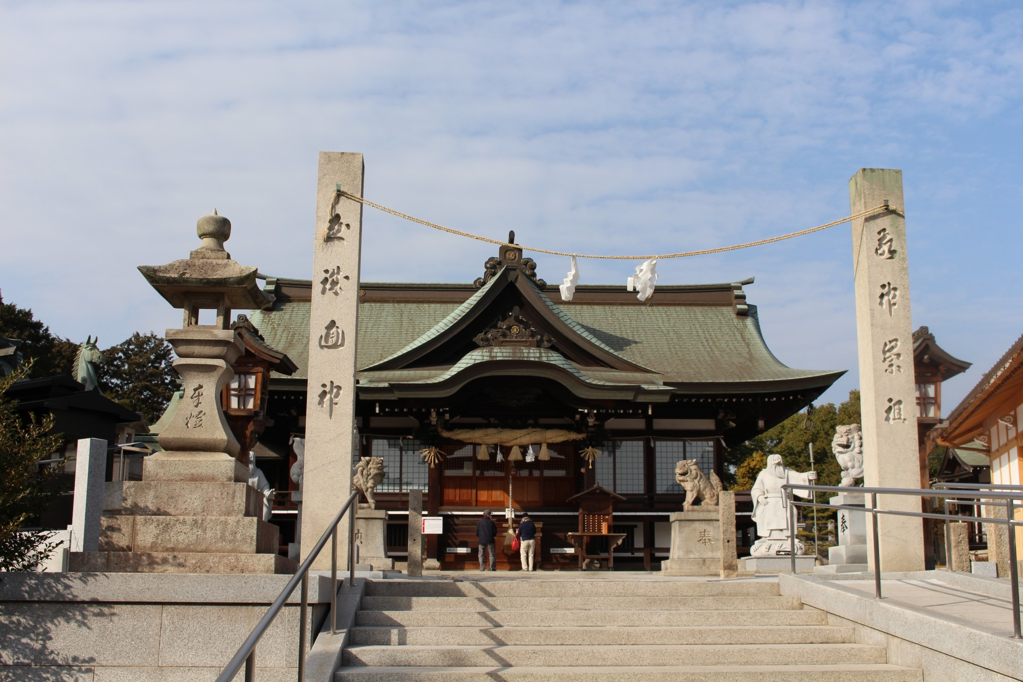 写真:道通神社