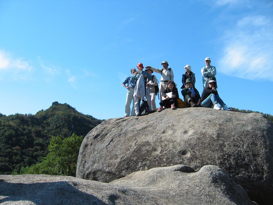 写真:白石島オリエンテーリングコース